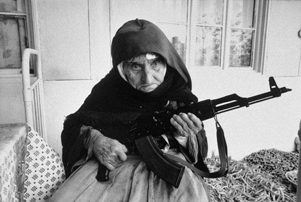 106-year-old-Armenian-Woman-guards-home-1990