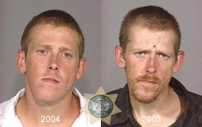 Drug abusers before and after 37