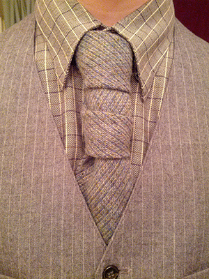 the glennie double tie knot