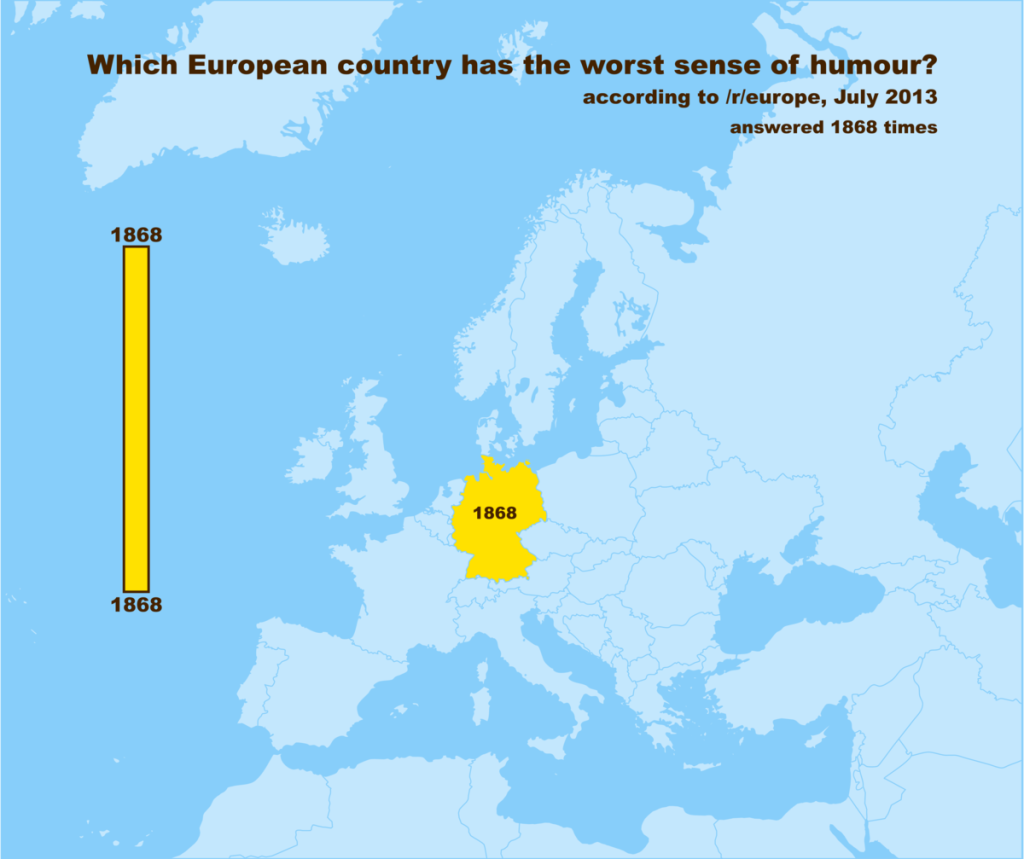 Which European Country Has The Worst Sense Of Homour?