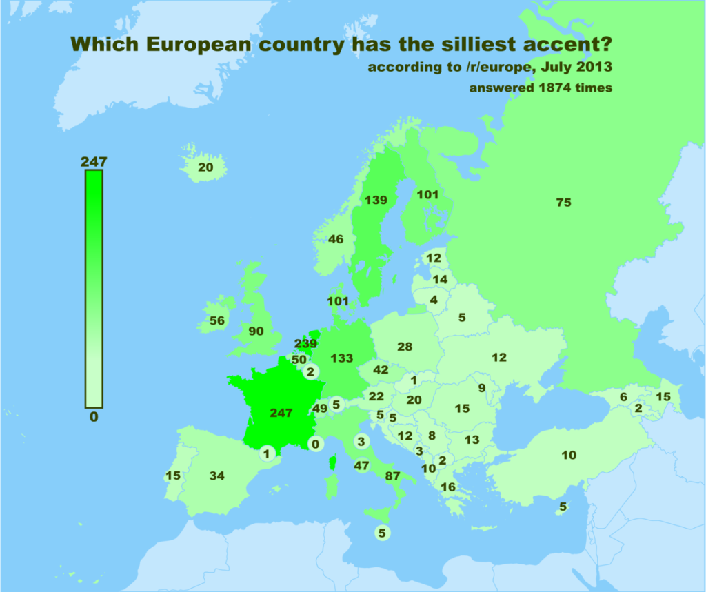 Which European Country Has The Silliest Accent?