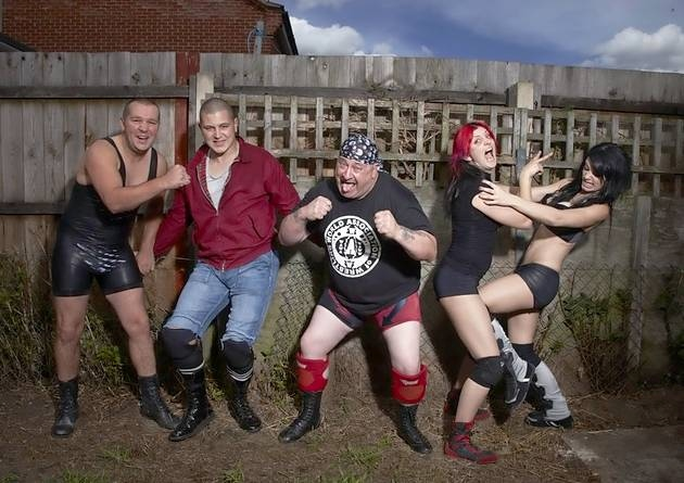Paige's wrestling family
