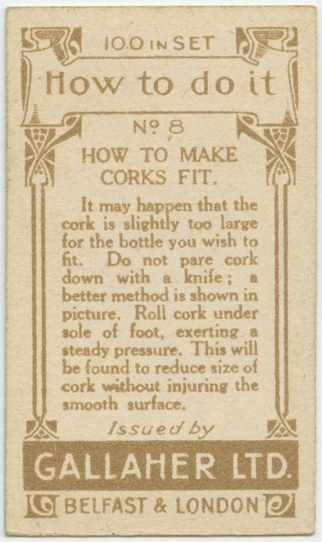 How to make corks fit-text
