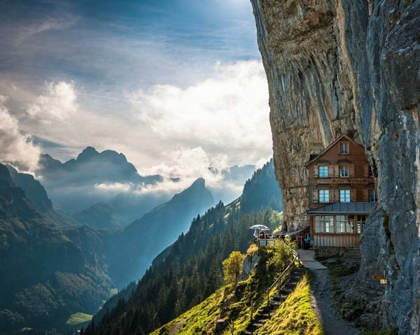 Aescher Hotel In Appenzellerland Switzerland