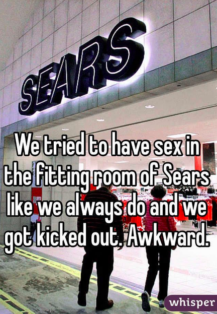 sex in the fitting rooms of seers