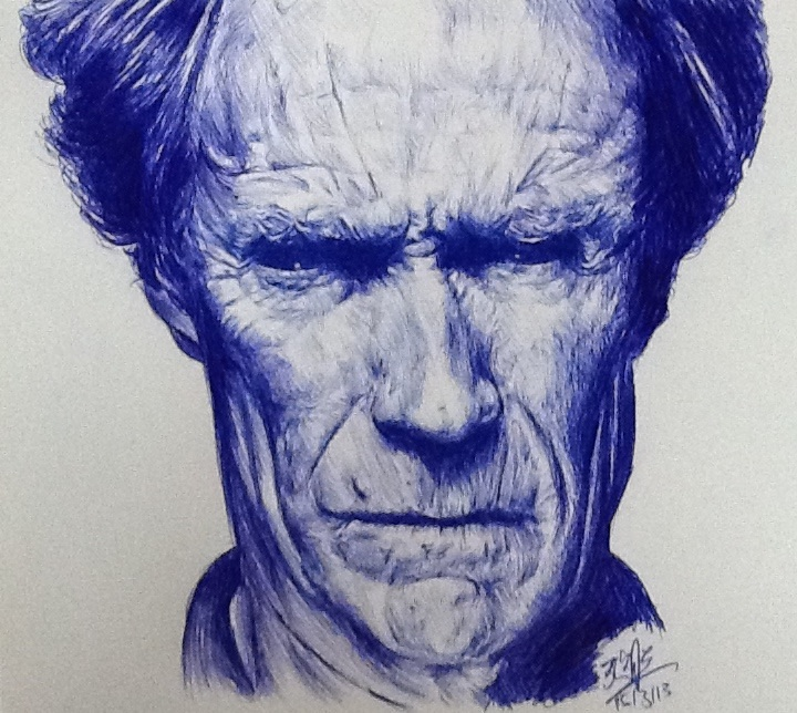 ballpoint pen art from Fukarf
