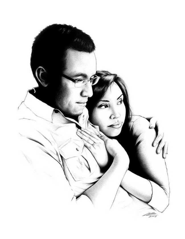 couple-ink-drawing