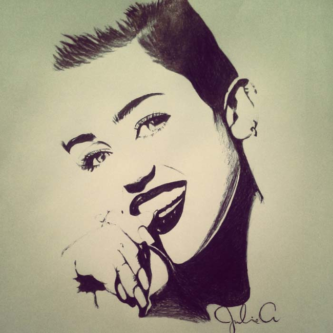 miley-cyrus-ballpoint-pen-art