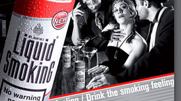 Strange Drinks - Liquid Smoking