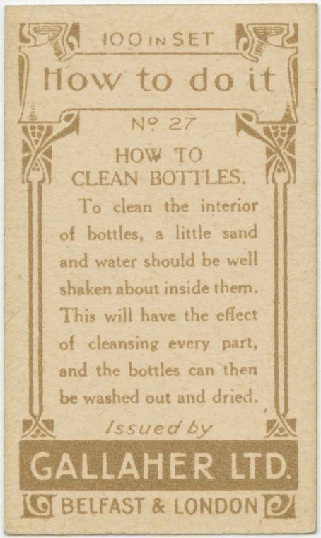 How to clean bottles-text