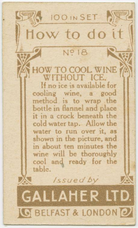 How to cool wine without ice-text