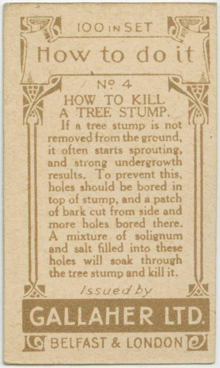 How to kill a tree stump-text