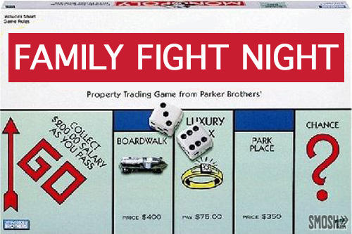 Monopoly - Family Fight Night